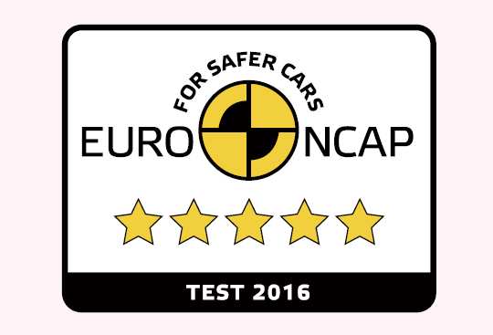 5-Star Euro NCAP Rating