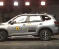 Nový Subaru Forester e-BOXER získal maximálne možné päťhviezdičkové hodnotenie v teste bezpečnosti Euro NCAP pre rok 2019
